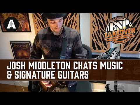Architects, Sylosis & Signature Guitars with Josh Middleton | ESP Social Takeover Weekend