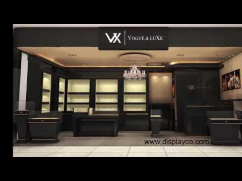 Women Shoes Display Showcase Shoe Shop Design