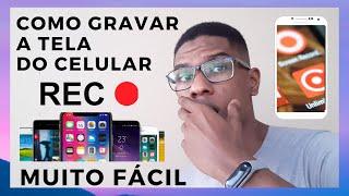 5 apps para Gravar a Tela do Android ( Sem Root )   Dica Tec #9