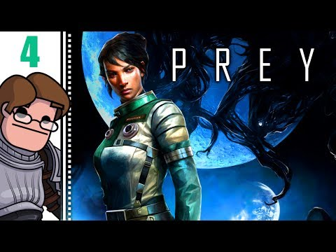 Let's Play Prey (2017) Part 4 - Transtar Lobby Exhibit