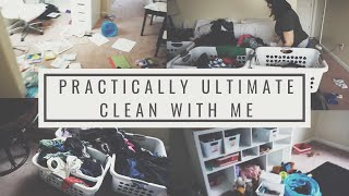Ultimate Clean with Me | Cleaning the Upstairs | Toys Galore | Laundry Mountain