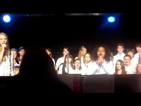 Rolling in the Deep - Dunstan Middle School choir concert (May 15, 2012)
