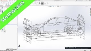 Import Scale Images SolidWorks 2017 Training Part Design