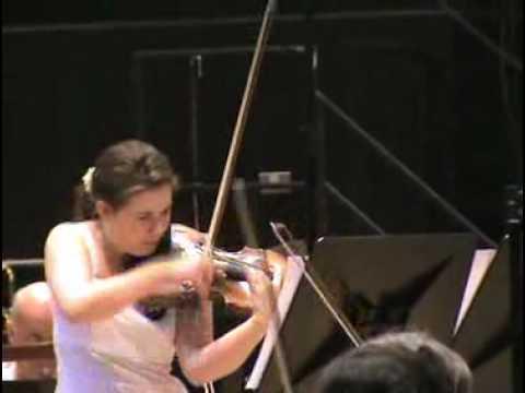 HUBAY: Violin Concertos (Hanslip, Bournemouth Symphony, Mogrelia) [Naxos 8.572078] - Clip 2