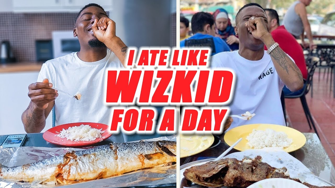 Download I Ate Like Wizkid For A Day...