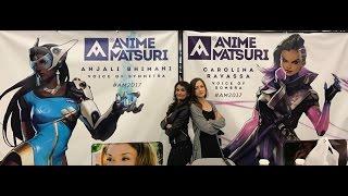 Sombra and Symmetra at Anime Matsuri