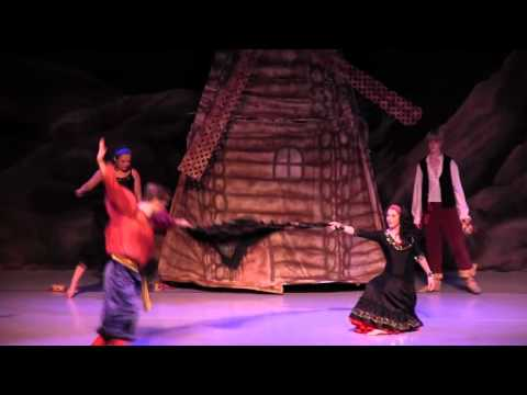 South  Mississippi Ballet Theatre's Don Quixote - Lead Gypsies