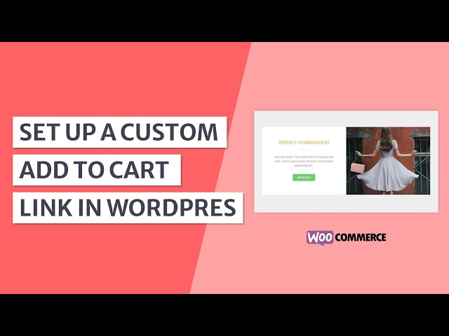 How to Create an Add to Cart Link in WordPress