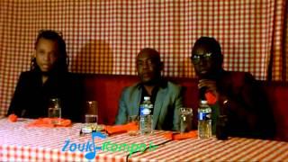Zenglen conférence de presse à Paris(zouk-kompa)