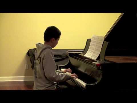 Schubert Impromptu Op. 90 No. 2 -Joseph Li 3/1/2014