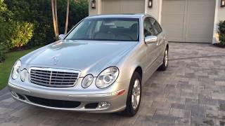 2003 Mercedes Benz E320 Review and Test Drive by Bill Auto Europa Naples MercedesExpert com