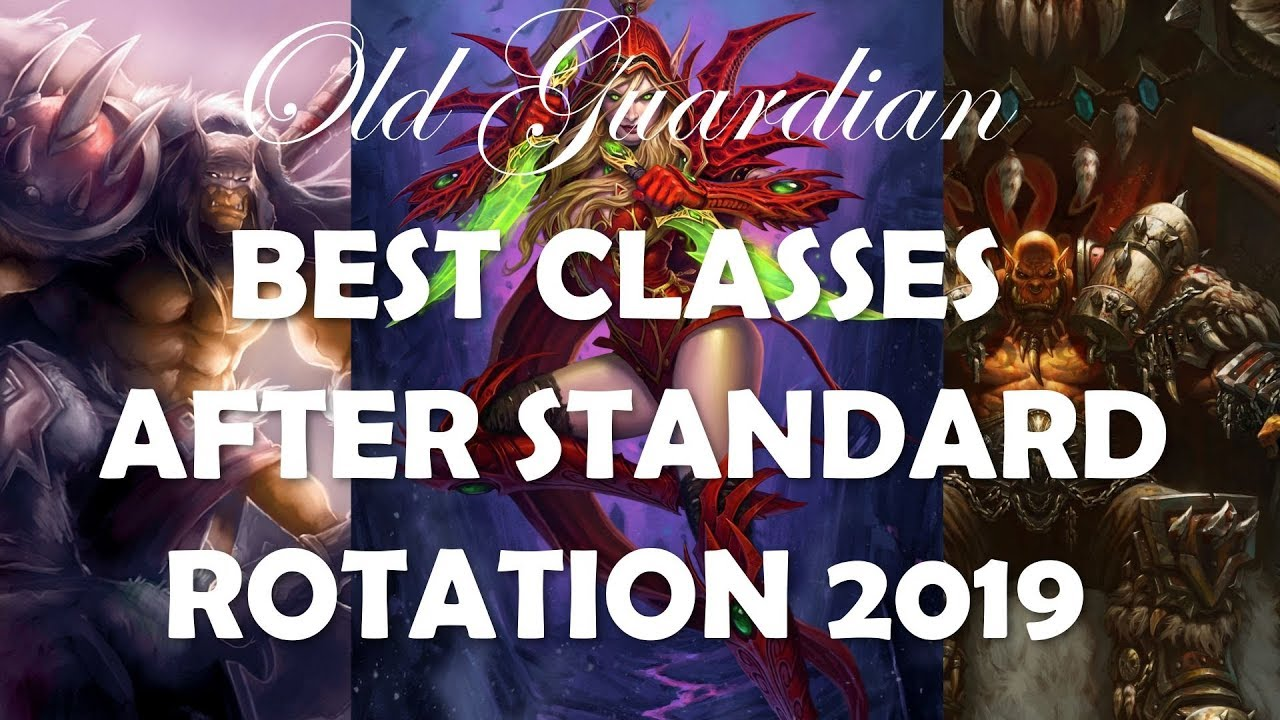 Hearthstone Best Class 2019 Best classes to play after Hearthstone Standard rotation 2019
