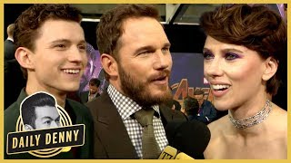 'Avengers: Infinity War' Premiere: The Marvel Cast Assembles In Hollywood | Daily Denny