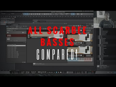 All Native Instruments Scarbee Basses Compared! (Jay-Bass, Pre-Bass, MM-Bass and Rickenbaker)