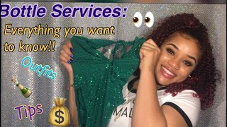 Bottle services / cocktail waitress / bottle girl : tips, tricks , outfits , live footage
