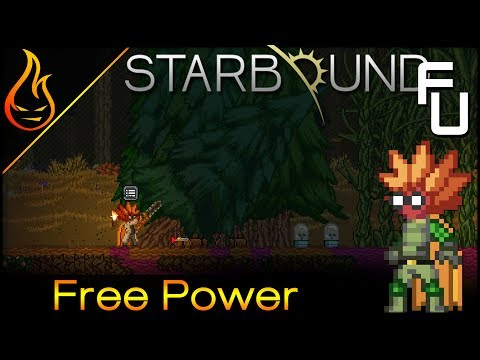 Auto Tree Farm and Infinite Power Starbound Frackin Universe EP33