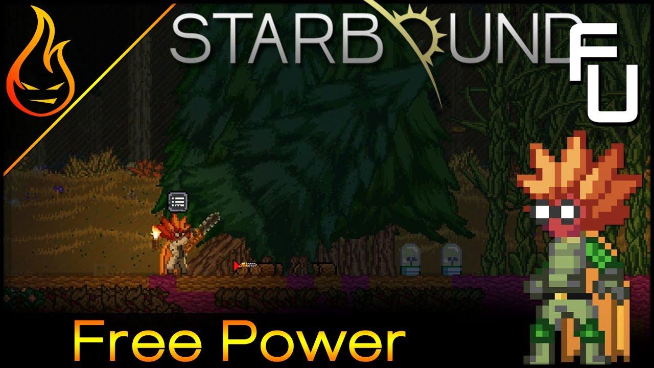 Auto Tree Farm and Infinite Power Starbound Frackin Universe EP33