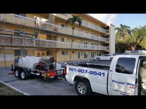 Commercial Roof Cleaning South Florida - TPO, PVC, RUBBER ROOFS