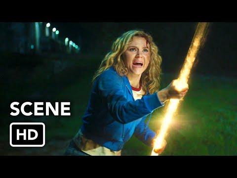 "DC's Stargirl 1x01 Scene ""Stargirl vs. Brainwave"" (HD) Brec Bassinger Superhero series"