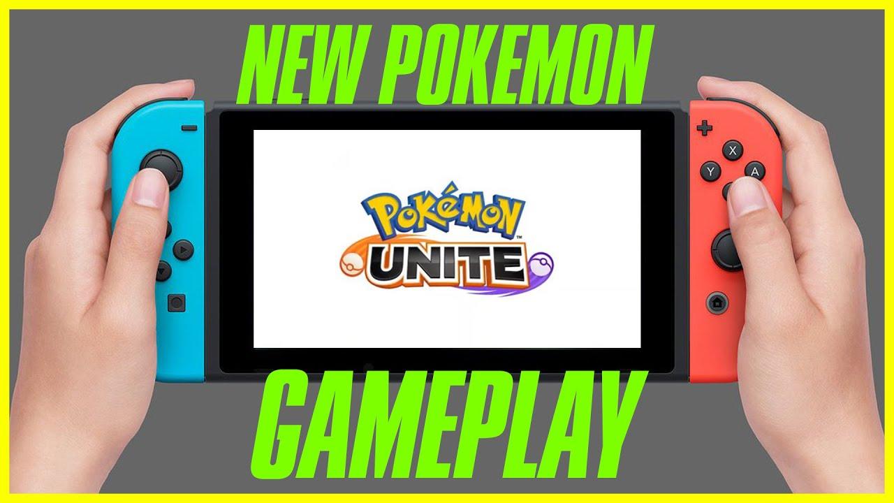 Pokemon Unite Gameplay Announcement - YouTube