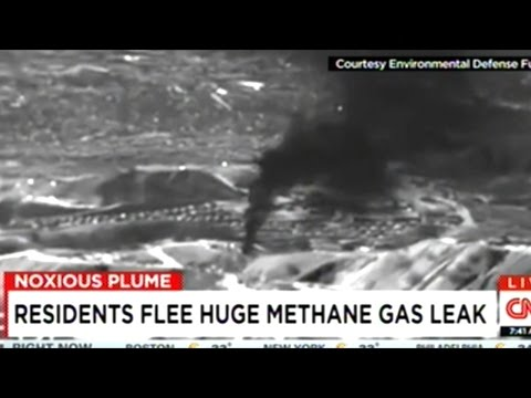 FAA Imposes NO-FLY ZONE Over Southern California Methane Gas Leak