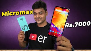 Micromax IN 1b Unboxing & First Impression 🔥🔥🔥 கலக்கலான மொபைல் for Rs.6999/-