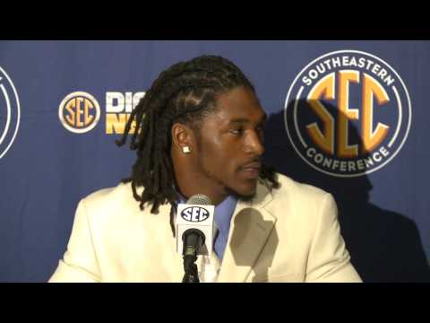2012 SEC Media Days - DJ Swearinger - South Carolina