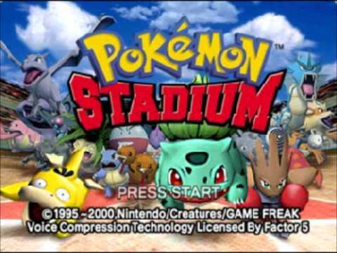 Pokemon Stadium Gym Leader Castle Elite Four Music