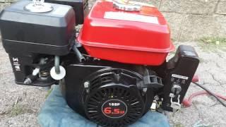 honda gx 200 clone electric start test