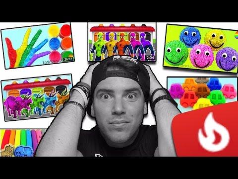 LEARN COLORS!! video for Kids - Le Tendenze di Youtube Italia (Finite Male) #7