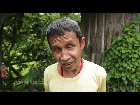 Blind but can walk faster than most of us... in the forest (for English Captions click cc)