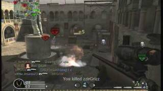 (MUST WATCH)Call Of Duty 4 Sniper Montage (zzirGrizz)