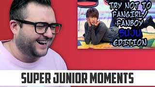 Try Not To Fangirl/Fanboy Challenge [SUPER JUNIOR EDITION] R…