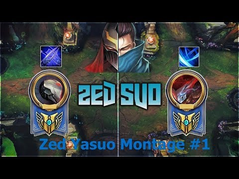 League of Legends Zed Yasuo Montage - Best Zed And Yasuo Plays 2017 #1