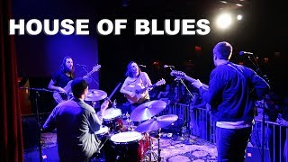 HOUSE OF BLUES WITH JUSTIN NOZUKA | DRUMMER ON TOUR VLOG