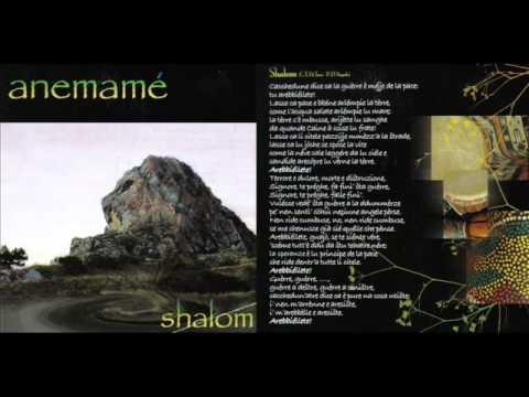 anemamé-SHALOM -Musica e testo (P.D'Angelo/CTDi Toro)-album:SHALOM