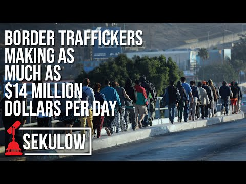 Report: Border Traffickers Making as Much as $14 Million Dollars Per Day