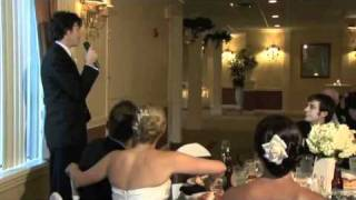 Mikey's Inappropriate Best Man Speech to AJ & Erin Horn