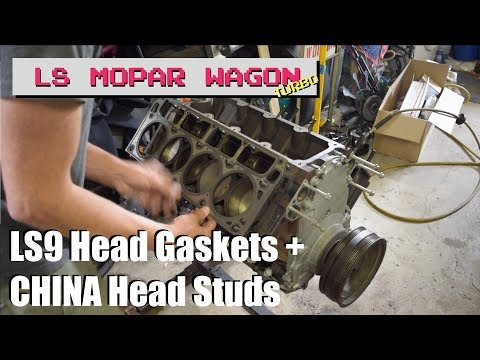 PoF // Ep 52 - Installing LS9 Head Gaskets and China Head Studs