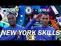 NEW YORK SKILLS CHALLENGE WITH ASHLEY COLE & MICHAEL ESSIEN
