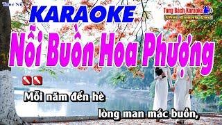 Nỗi Buồn Hoa Phượng Karaoke 123 HD (Tone Nữ) - Nhạc Sống Tùng Bách
