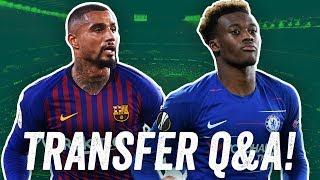 Transfer-Q&A: Odoi? Icardi? Dybala? Was macht Bayern? Wen holt S04? Verteidiger für Frankfurt?
