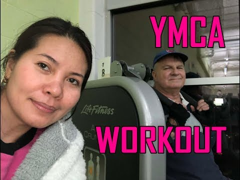 YMCA GYM  REGULAR WORK OUT ROUTINE