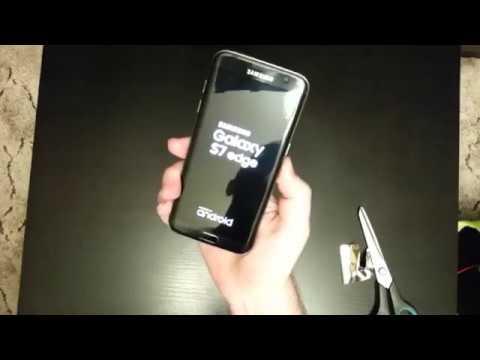 Samsung Galaxy S7 Edge убираем розовую линию Часть 3 (Эксперемент)