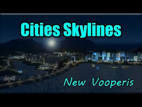 TORNADO HITS THE CORGI DISTRICT! - Cities Skylines [New Vooperis] #19