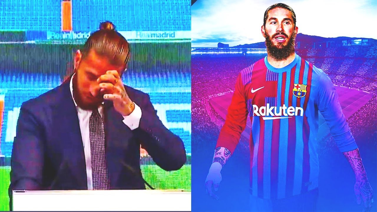 IT'S OFFICIAL! SERGIO RAMOS LEAVES REAL MADRID and JOIN BARCELONA!? Or it will be Man City or PSG?