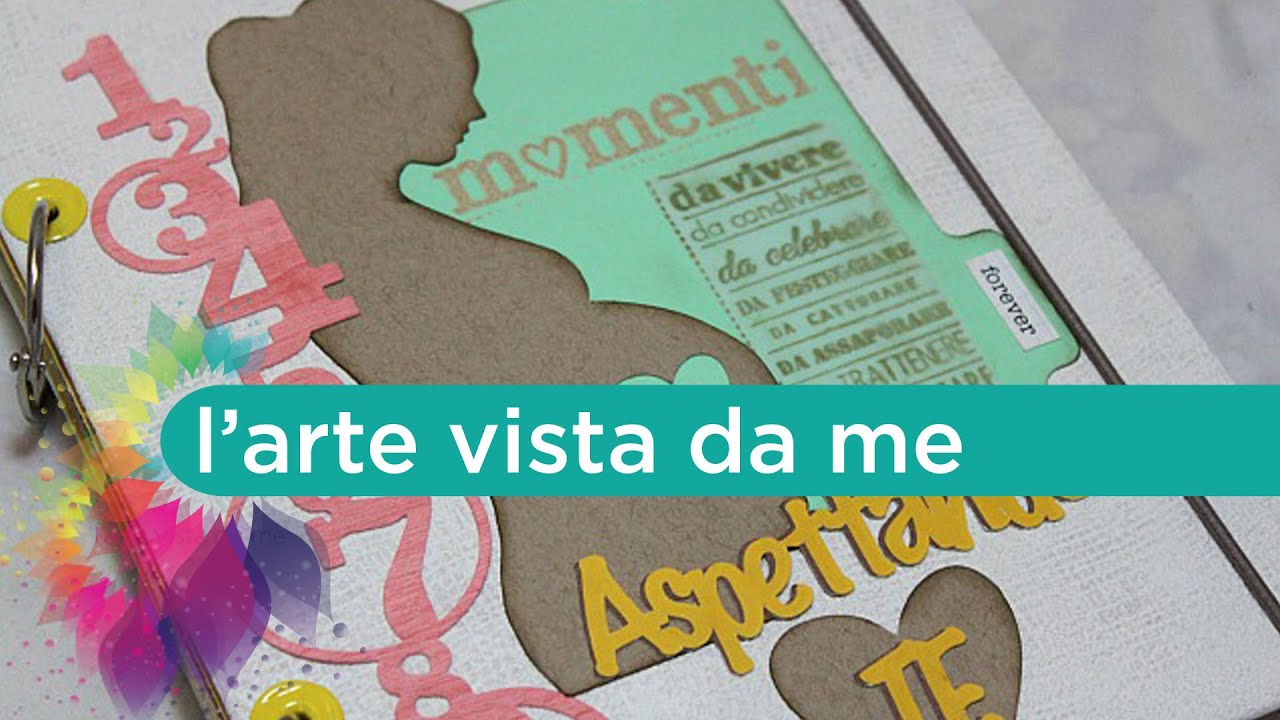 Favorito Diario di Gravidanza Fai da te-Mini Album Scrapbooking- Pregnancy  NT23