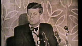 In 1963, President Kennedy addressed the 50th Annual Meeting of ADL...