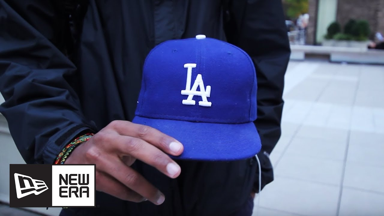 32f56724 Man on the Street: Breaking In Your New Era Cap | New Era Cap - YouTube