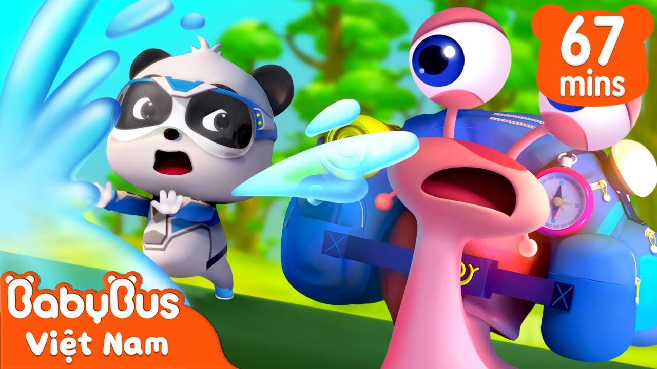 Nhà thám hiểm ốc sên | Tuyển tập biệt đội siêu cứu hộ | Hoạt hình thiếu nhi vui nhộn | BabyBus